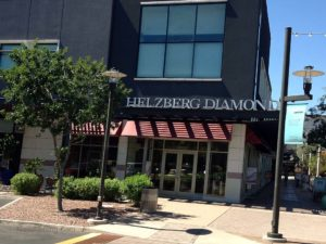 Framework Only Awning at Jewelry Store