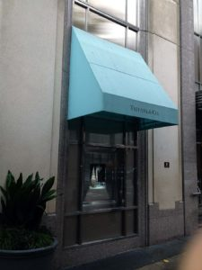 Awning for Jewelry Store
