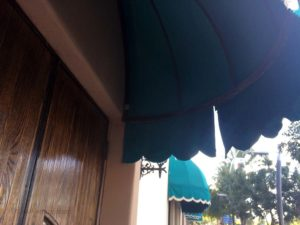 Damaged Awning